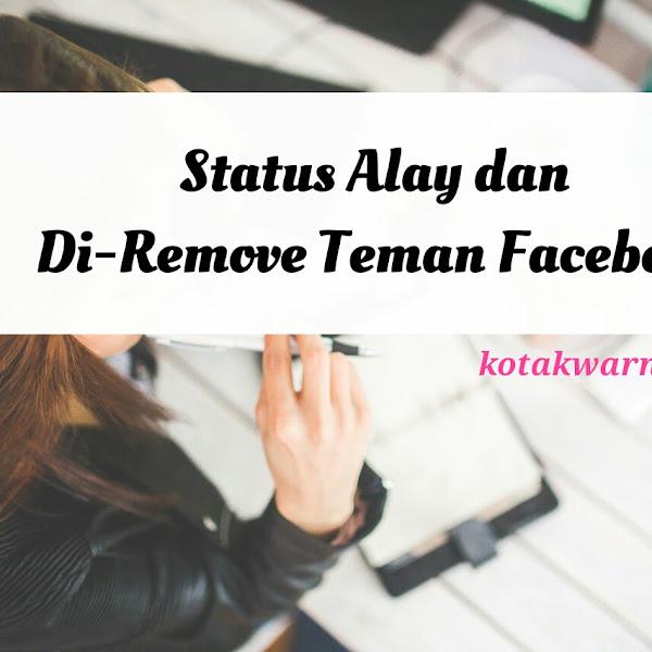 Status Alay dan Di-Remove Teman Facebook