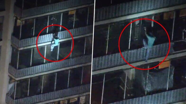 35-Years-Old Man Climbs 19-Storey Building To Save His Mother From Fire