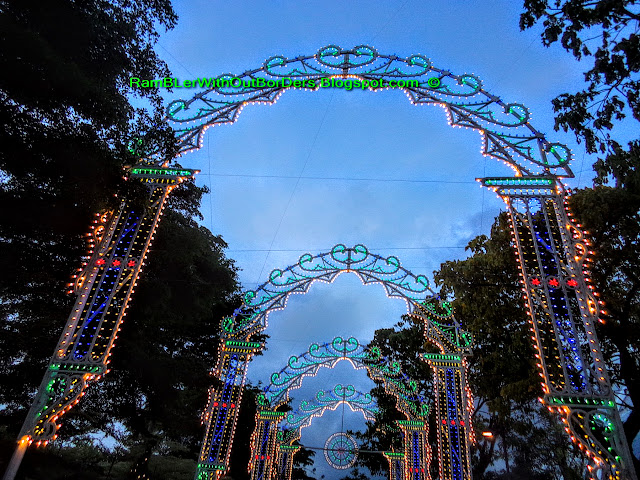 Luminarie sculptures, Christmas Wonderland, Gardens by the Bay, Singapore