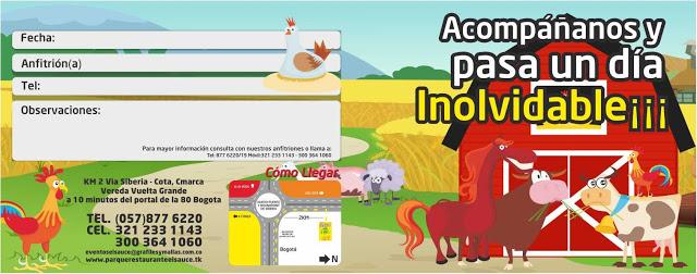 Invitacion editable animales granja paquetes fiesta cumpleaños Bogota