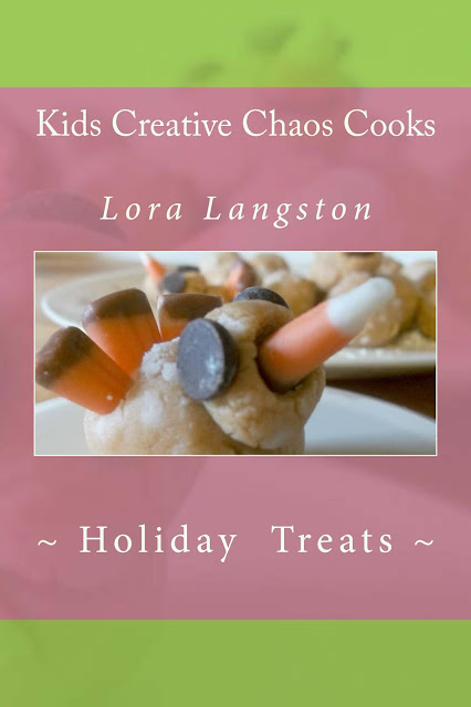 Cookbook for Kids Edible Crafts for Kids to Make: Kids Creative Chaos