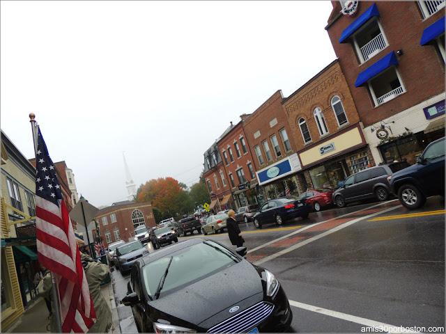 Calle Principal en Camden, Maine