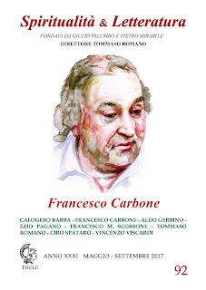 """""""Ricordare Francesco Carbone, tra distruzione e ricostruzione"""" di Aldo Gerbino"""