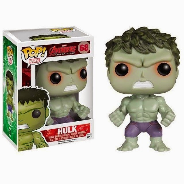 Hot Topic Exclusive Savage Hulk Avengers: Age of Ultron Pop! Vinyl Figure by Funko