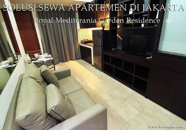 Sewa Apartemen Jakarta Royal Mediterania Garden Residence Fully Furnished