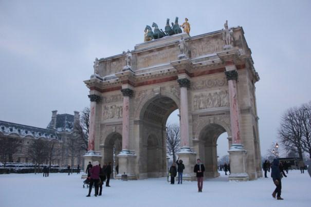 Clima de Paris em janeiro