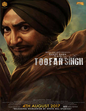 Poster Of Pollywood Movie Toofan Singh 2017 300MB HDRip 480P Full Punjabi Movie