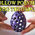 Cool Hollow Polymer Clay Egg Tutorial | Science in Action!