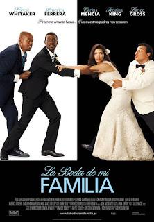 Cartel oficial español: La boda de mi familia (2009)