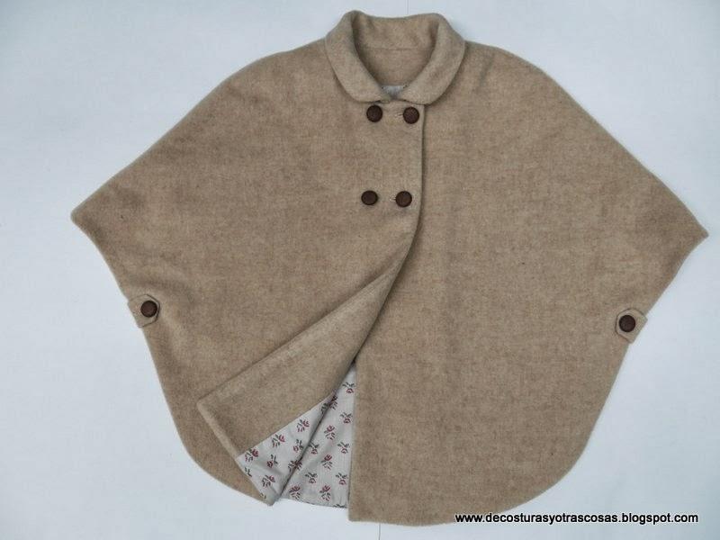 Como se hace una capa de abrigo