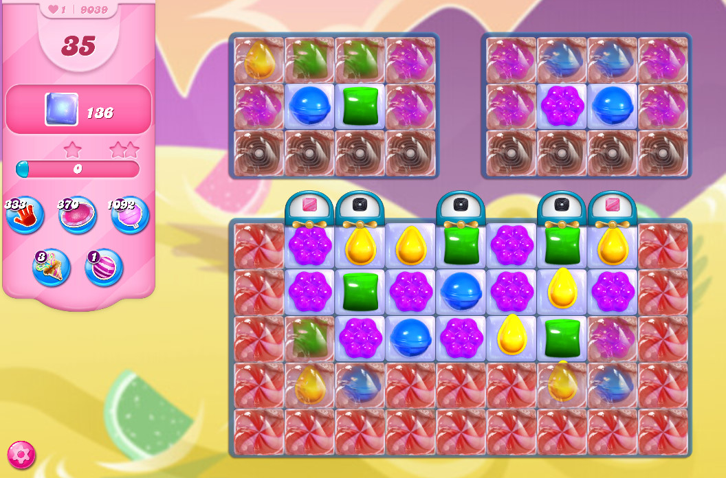 Candy Crush Saga level 9039
