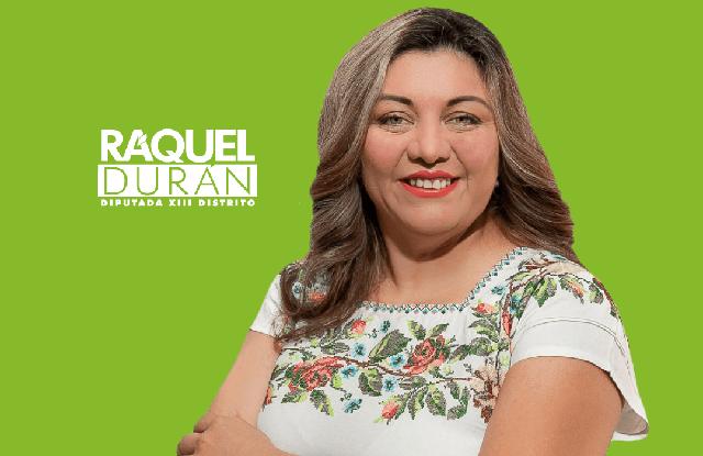 Raquel Durán, mujer mayahablante, candidata en el Distrito XIII Local por el PVEM