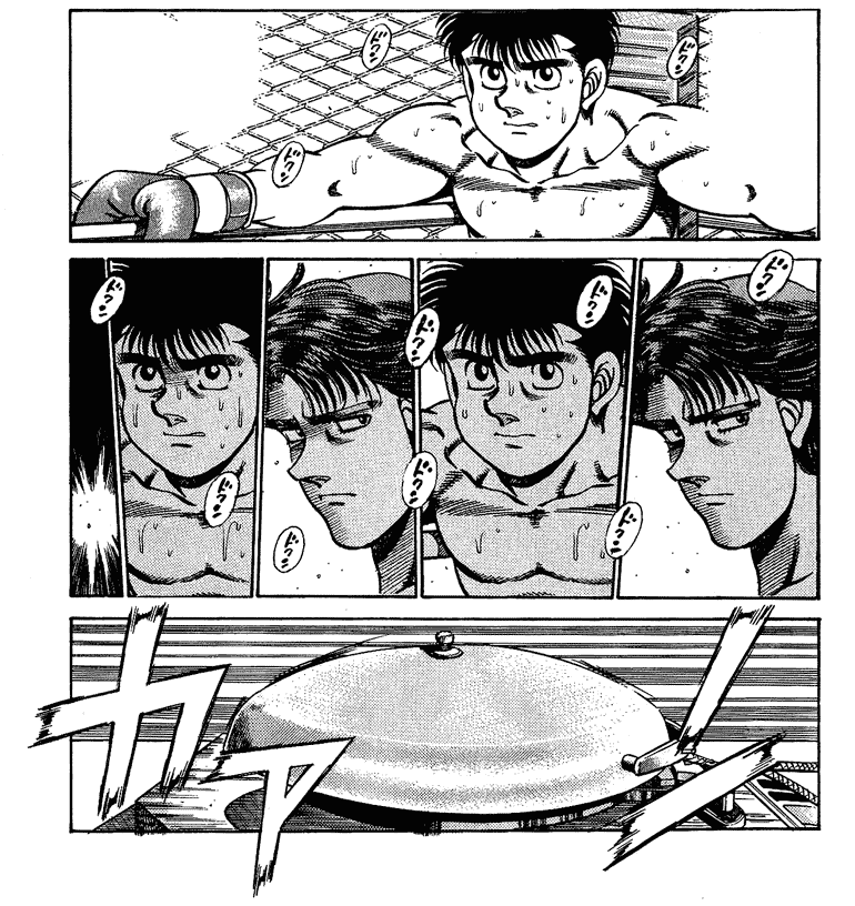 Hajime no Ippo manga crítica