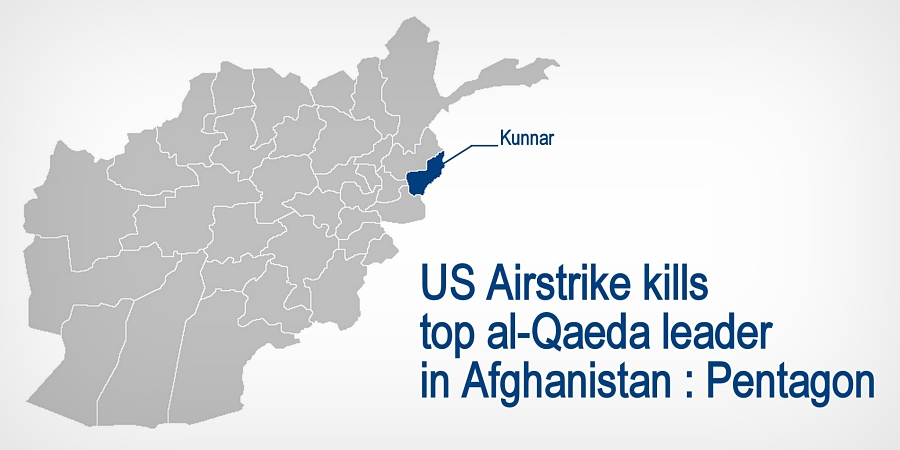 US Says Airstrike Killed Al-Qaida Leader in Afghanistan