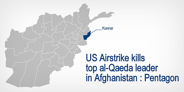 NEWS | US Airstrike kills top al-Qaeda leader in Afghanistan : Pentagon