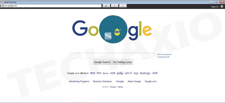 Play3 browser Screenshots