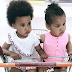 Mikel Obi's shares beautiful photos of his twin daughters