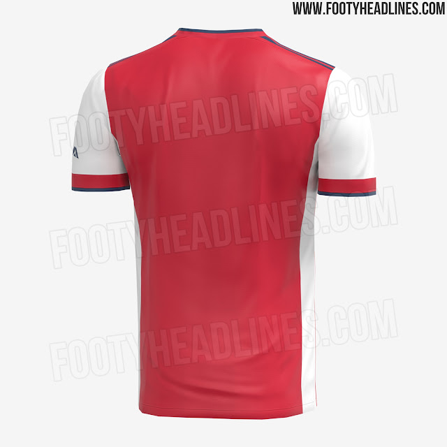 Arsenal 2021-22 Adidas Home Kits