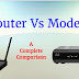 What is difference between Modems and Routers ? A Comparison Guide