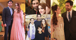 Brothers Sami Khan and Taifoor Khan with their Families