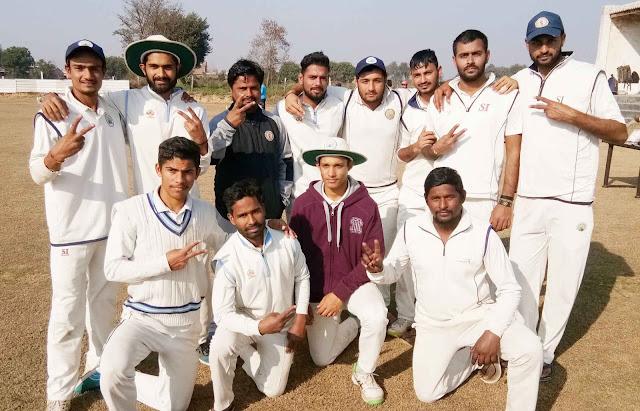 Belmax Cricket Club defeated Raval Cricket Academy by 10 wickets