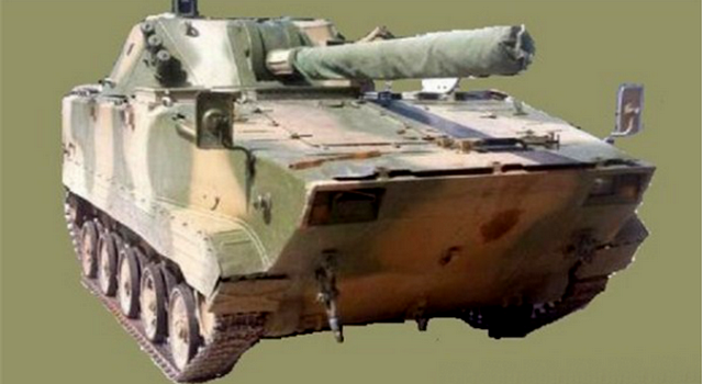 120-мм САУ на базі ZBD-03