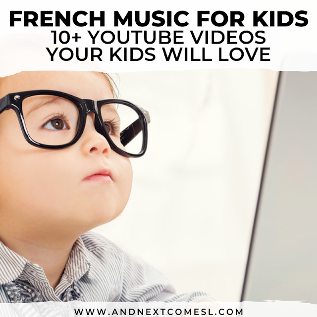 Awesome French music playlist for kids
