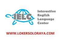 Lowongan Kerja Solo Admin Officer Lulusan D3 di Interactive English Language Center (IELC)