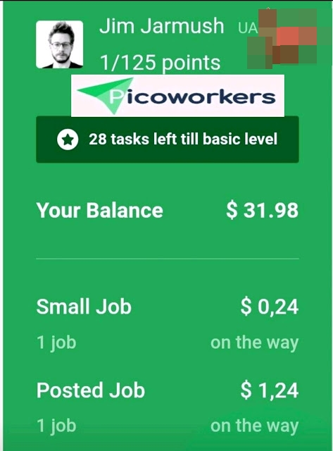 How to make Per day $ 20 with Picoworkers, Doing simple tasks, Picoworkers Review 2020