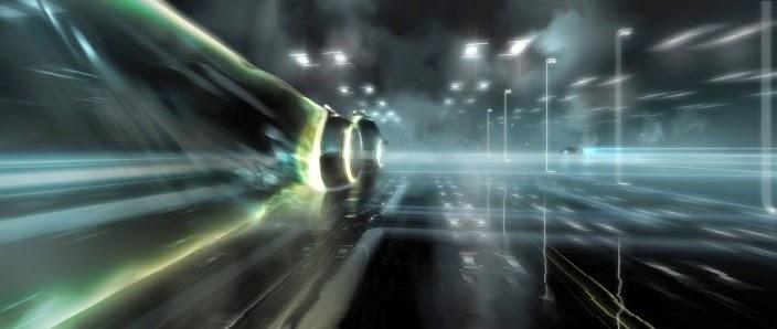 Brilliant Tron Legacy Concept Art By David Vyle Levy Film