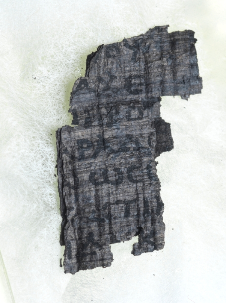 2,000-year-old Herculaneum Scrolls studied using UK's Synchrotron, Diamond Light Source