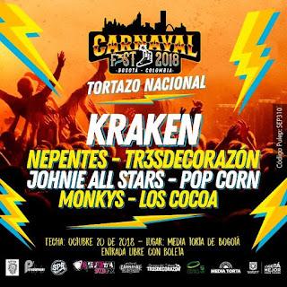 CARNAVAL FEST 2018 Bogotá Colombia
