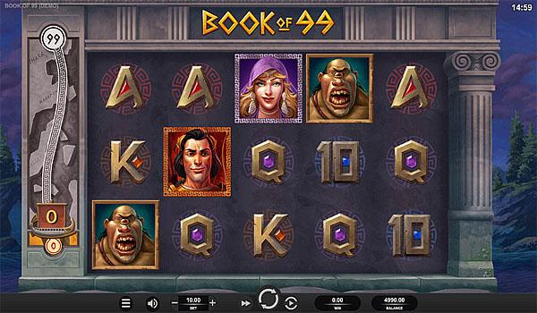 Main Gratis Slot Indonesia - Book of 99 Relax Gaming