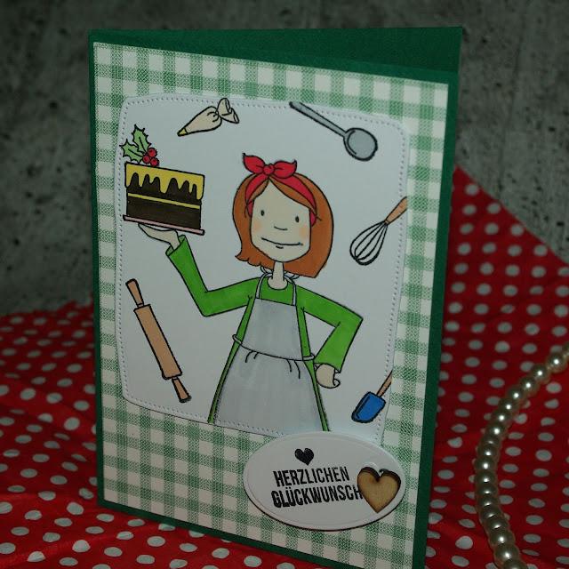 [DIY] Herzlichen Glückwunsch, Lieblingsköchin! Grußkarte für alle (Hobby-) Köchinnen