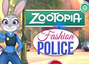 Zootopia Fashio Police juego