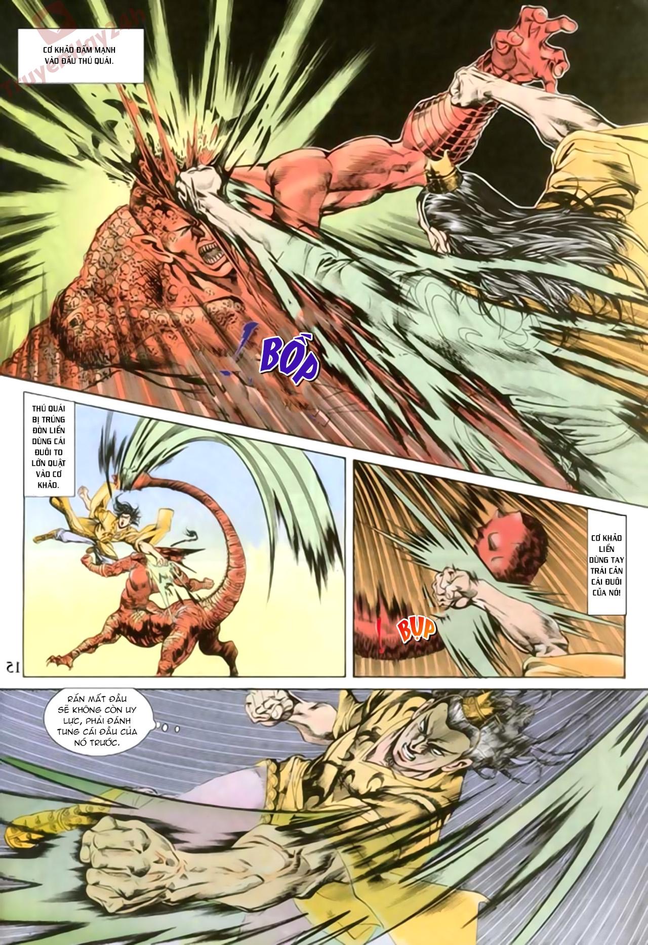 Cơ Phát Khai Chu Bản chapter 81 trang 15