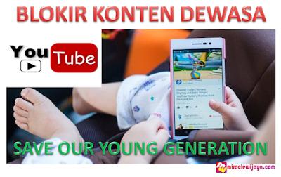 Cara Blokir YouTube Dari Konten Dewasa Untuk Anak