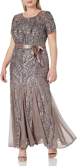 Elegant Plus Size Mother of The Groom Dresses