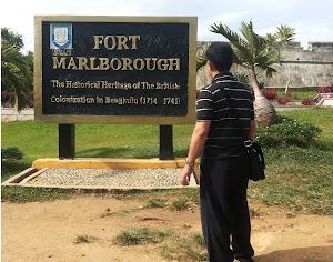 Mengunjungi Benteng Marlborough Bengkulu - Sejarah Pendudukan Inggris Di Nusantara