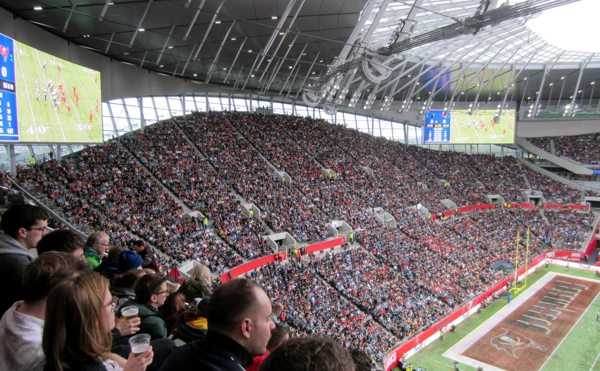 The South Stand at Tottenham Hotspur Stadium
