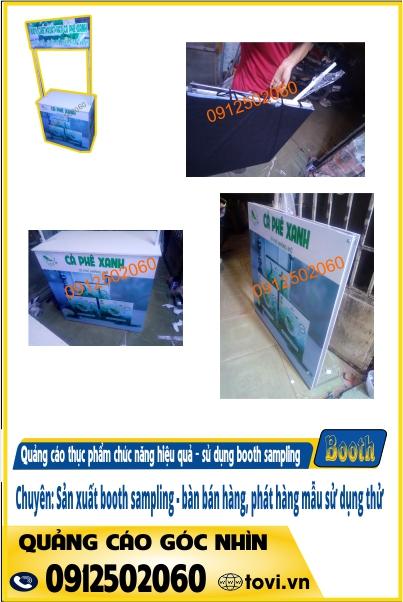 booth quảng cáo thực phẩm chức năng