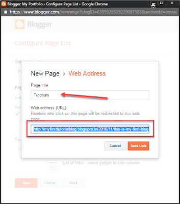 Create A Blog Using Blogger