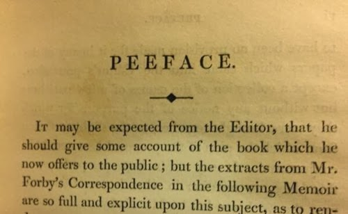 vintage book peeface preface editor's explanatory notes funny fail