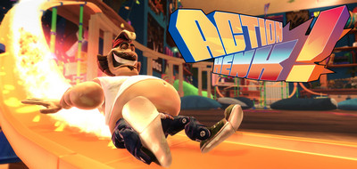 Become a master of momentum and defy physics as you race against a band of ragged  Action Henk-CODEX
