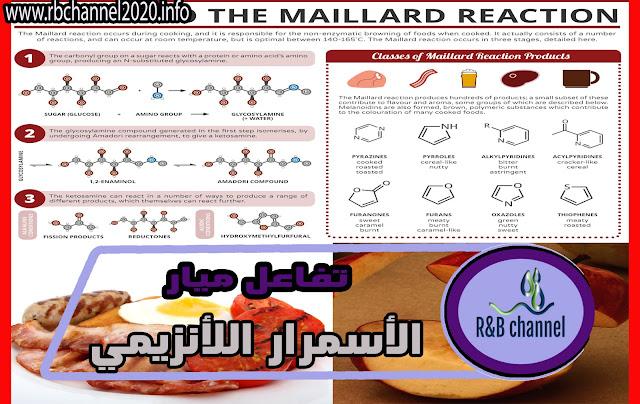 تفاعل ميار (Maillard Reaction) - الأسمرار اللأنزيمي