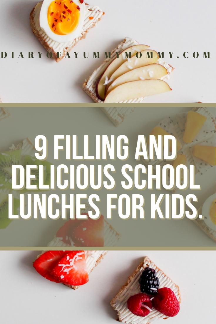 kids friendly school lunch ideas for kids.