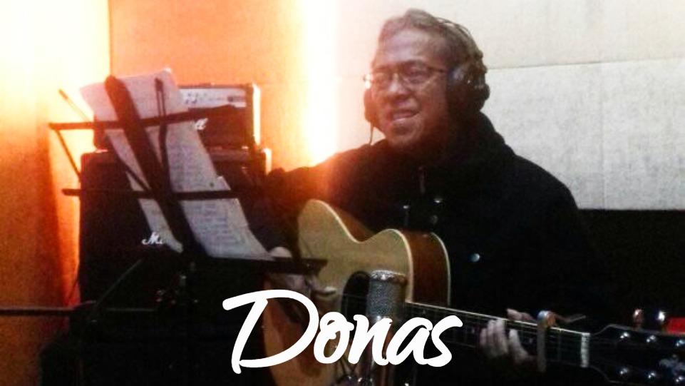 Donas, Musisi Nasional.