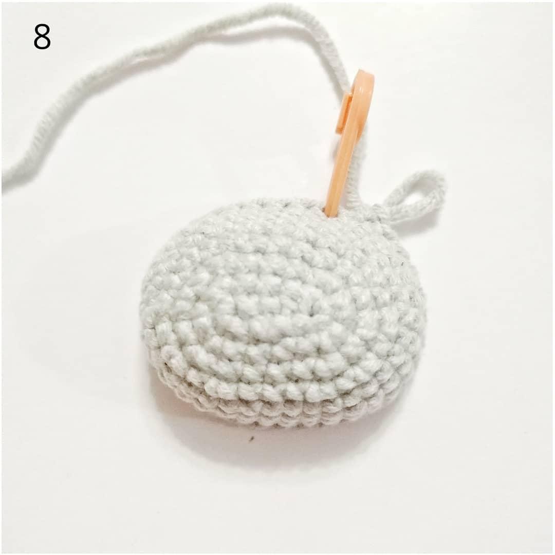 Crochet hippo tutorial muzzle