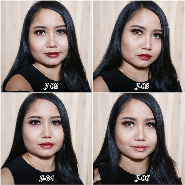 Swatch Matte Metalic Lipstick Sariayu