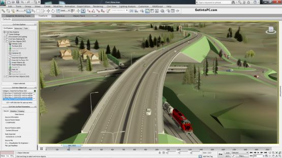 AutoCAD Civil 3D 2014 screenshot 2